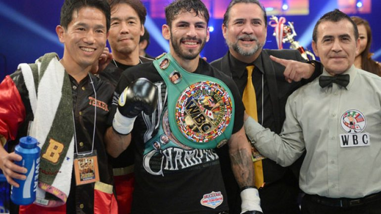 Jorge Linares poised to make noise in lightweight division
