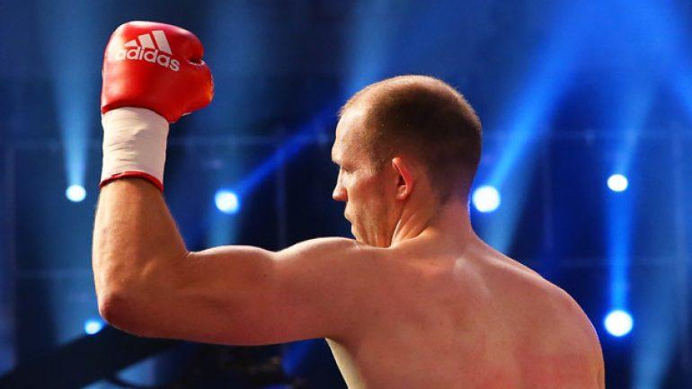 Juergen Braehmer ices Pawel Glazewski inside 60 seconds