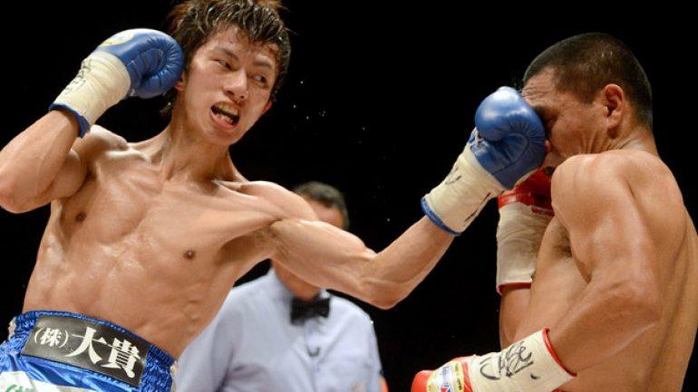 Photo gallery: Takashi Uchiyama vs Israel Perez Tokyo card