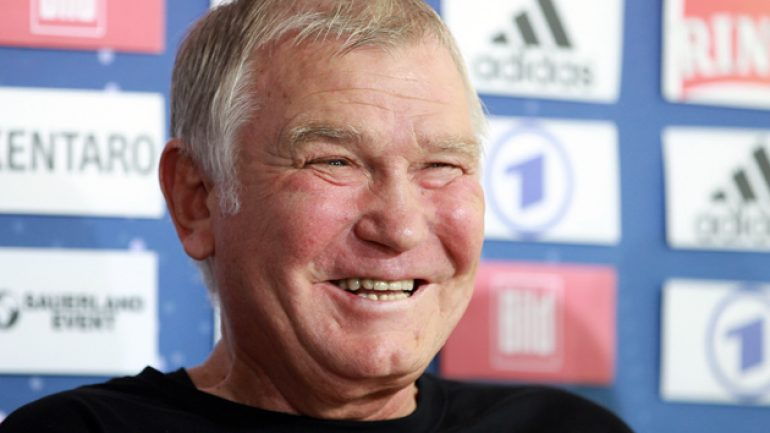 Fritz Sdunek, 67, trainer of the Klitschko brothers, dies