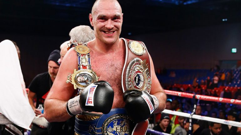 Tyson Fury-Christian Hammer on Feb. 28; Stiverne-Wilder selling well