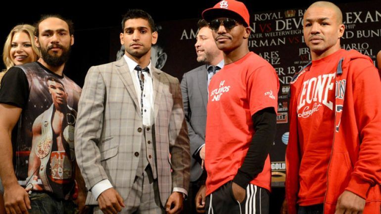 Photo gallery: Devon Alexander-Amir Khan final press conference