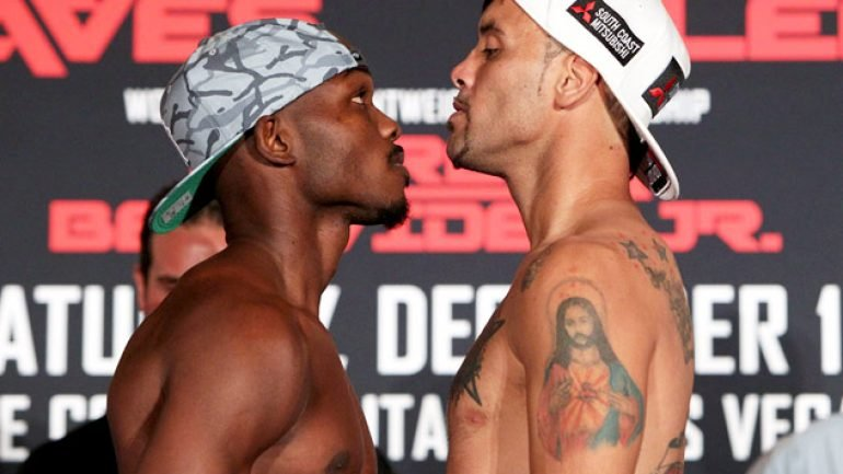Photo gallery: Tim Bradley-Diego Chaves weigh-in