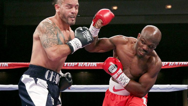 Poor judging mars entertaining Tim Bradley-Diego Chaves card