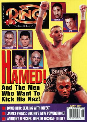 Ring Magazine Cover - Naseem Hamed