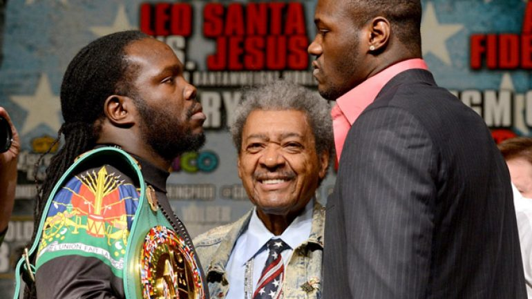 Photo gallery: Bermane Stiverne-Deontay Wilder press conference