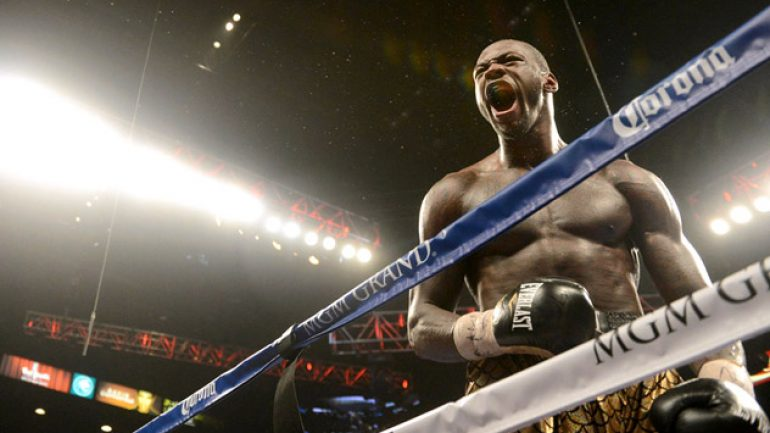 Deontay Wilder of his 'prophecy': 'All of this was meant to be'