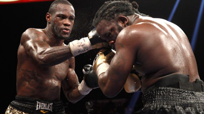 Ring Ratings Update: Deontay Wilder advances in heavyweight rankings