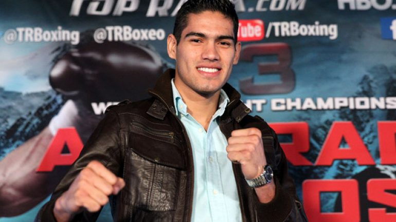 Gilberto Ramirez to face Gevorg Khatchikian, Nov. 20 on truTV