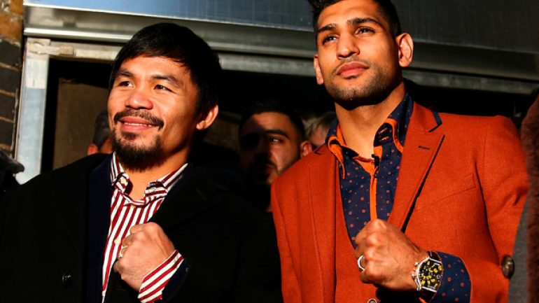 Pacquiao, Khan reach agreement to fight on April 23