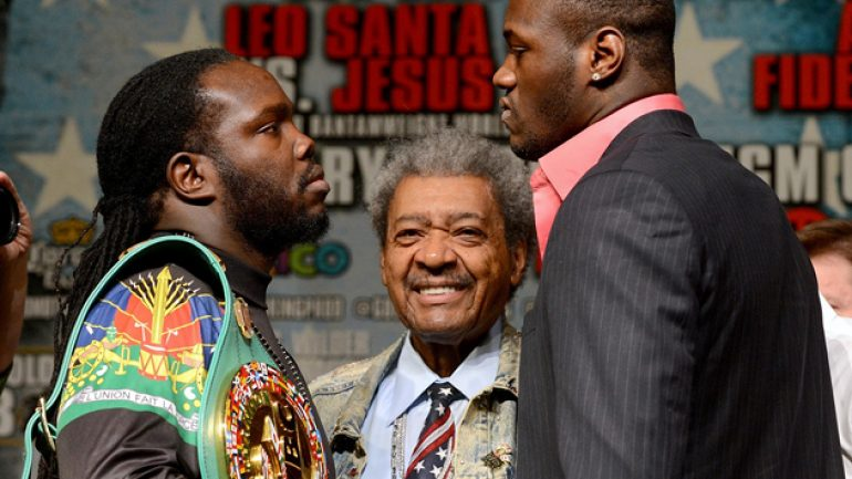 Showtime Sports to stream Stiverne-Wilder weigh-in