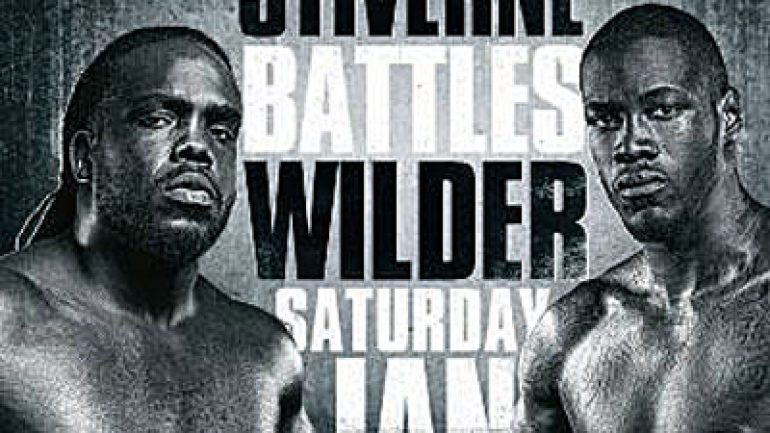 All Access: Bermane Stiverne vs. Deontay Wilder airs Friday