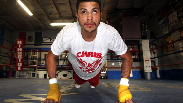 Photo gallery: Chris Avalos workout