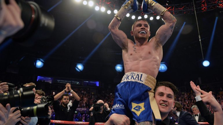 Frampton-Quigg talks hit stalemate over TV rights