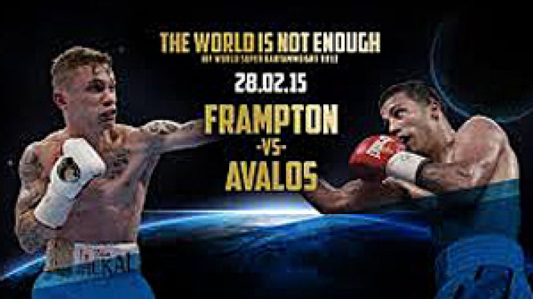 Millions can tune in free to watch Carl Frampton-Chris Avalos