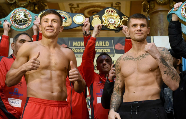 Photo Gallery Gennady Golovkin Martin Murray Weigh In