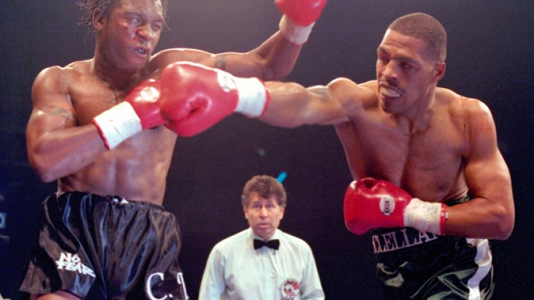 Nigel Benn recalls triumph, tragedy of Gerald McClellan fight