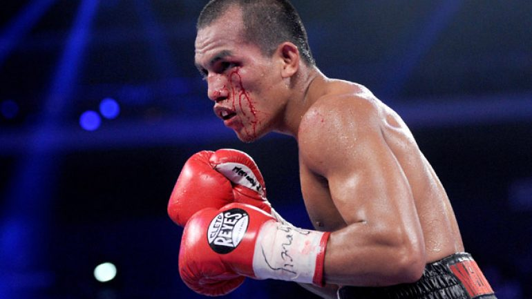 Javier Mendoza will defend against Milan Melindo on April 25