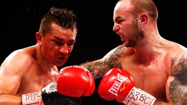 Kevin Mitchell stops Daniel Estrada in eight