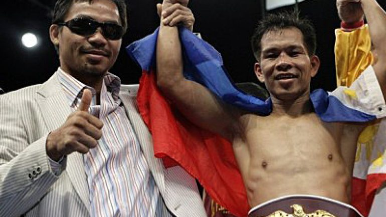 Gerry Penalosa: Manny Pacquiao will kick Floyd Mayweather's ass