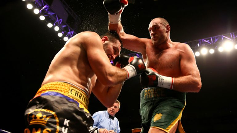 Tyson Fury looks like real title threat while stopping Christian Hammer