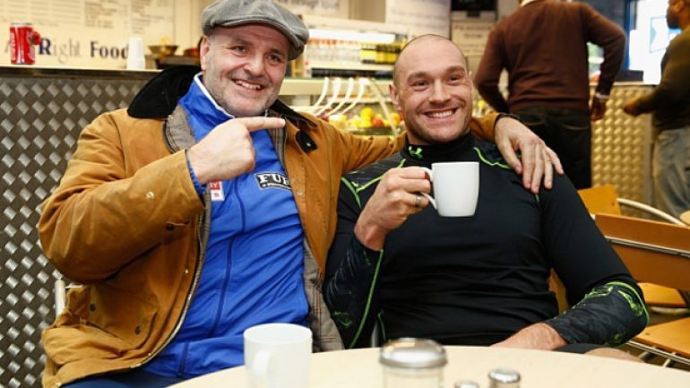 From the Telegraph: Blood is thicker than water for heavyweight Tyson Fury