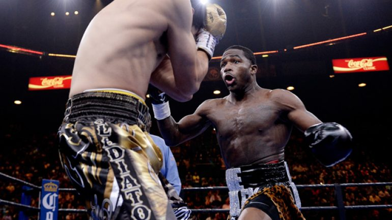Adrien Broner easily outpoints an inactive John Molina on NBC