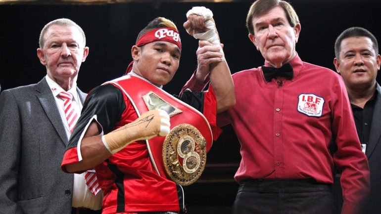 Albert Pagara gets new opponent following Sanchez withdrawal