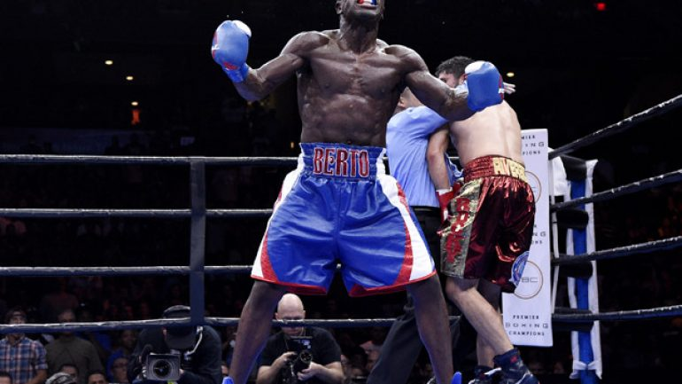 Andre Berto stops Josesito Lopez in six to keep career alive