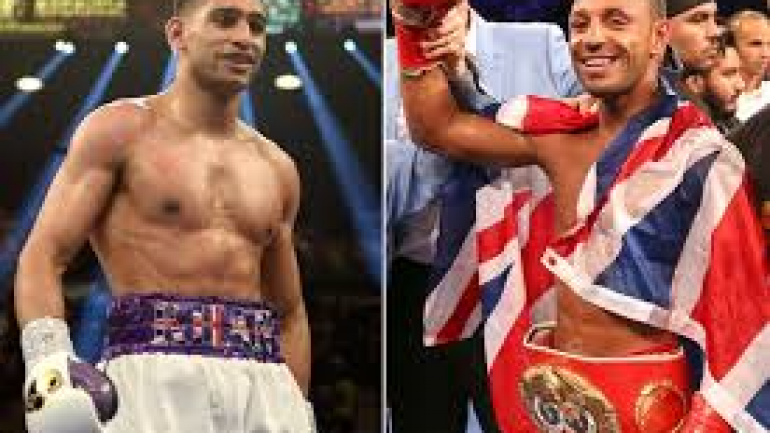 Khan talks 'potential' Brook clash at Wembley in 2016