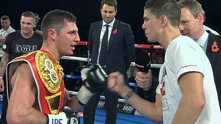 Luke Campbell and Tommy Coyle ready for collision on Saturday