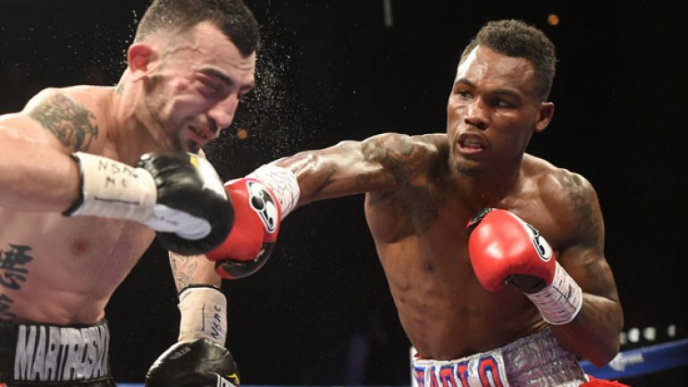 Jermell Charlo to face Joachim Alcine on Oct. 31