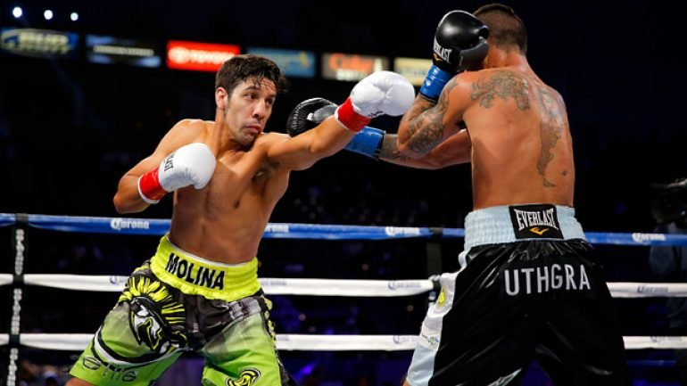 Molina ready for braggadocious Broner