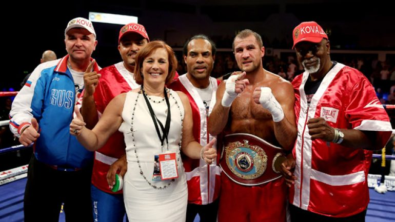 Sergey Kovalev and Nadjib Mohammedi prepare for a clash in Vegas