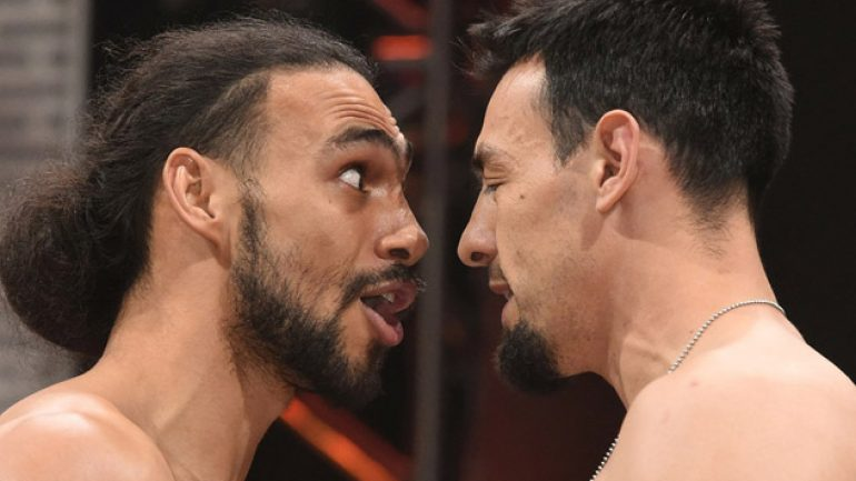 Photo gallery: Thurman-Guerrero, Broner-Molina, Mares-Reyes weigh-in