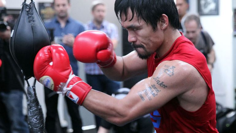 Pacquiao claims again his anti-gay comments taken out of context