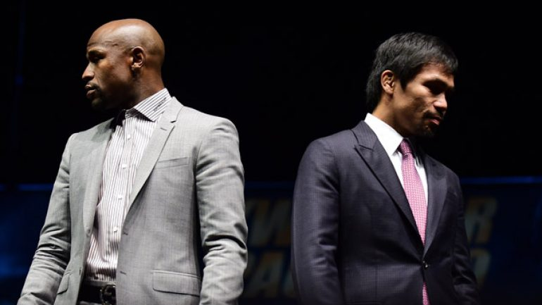 Mayweather-Pacquiao: Tickets will go fast (no, really)
