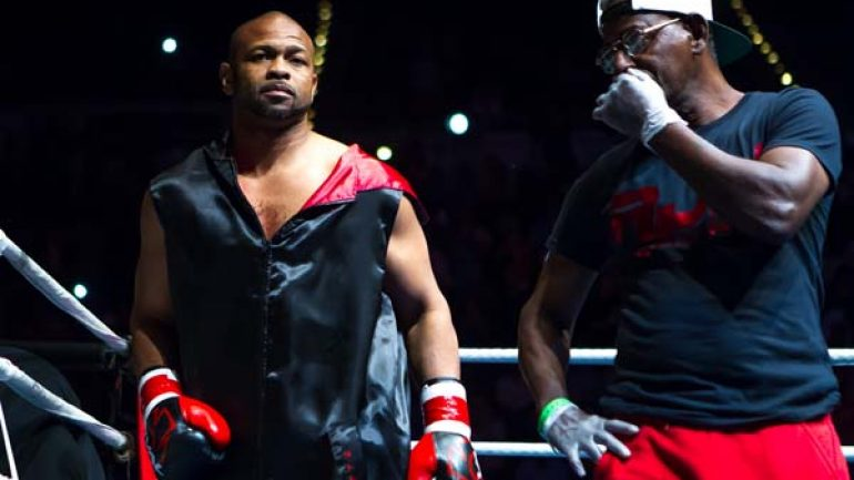 Why is Roy Jones Jr. facing an MMA fighter tonight? Program exec talks