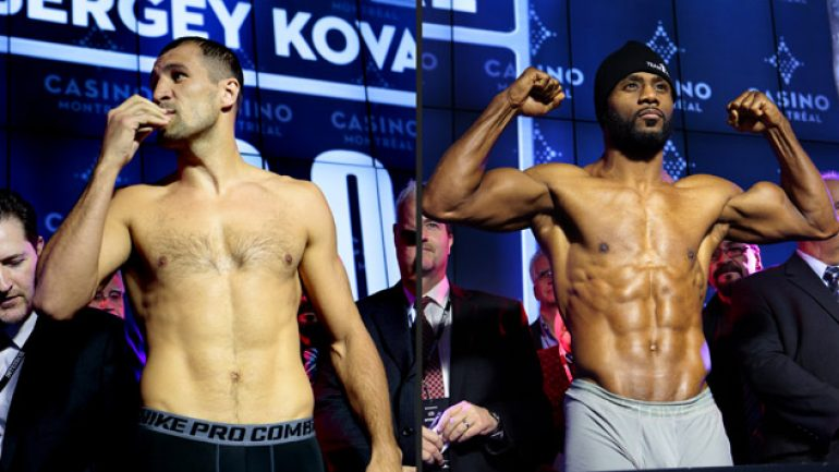 Will Kovalev-Pascal II end in a familiar manner?