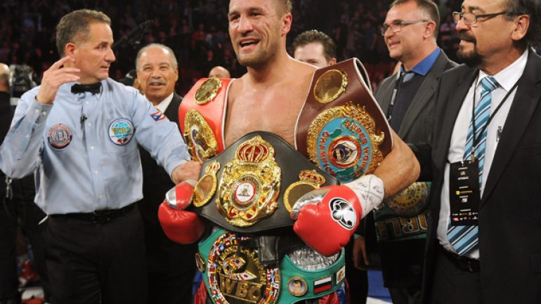 Sergey Kovalev goes home