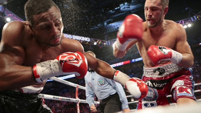 Promoter says Kovalev didn't have issue returning to scene of tragedy
