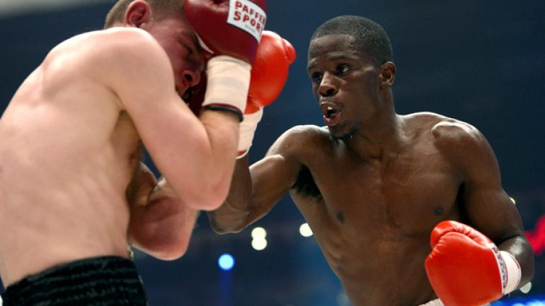 Tony Harrison: 'Knocking people out is my high'