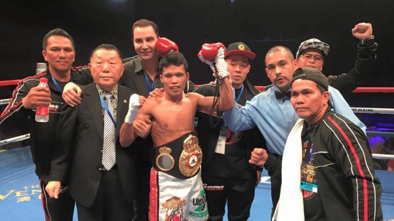 Randy Petalcorin blitzes Ma Yi Ming in one round