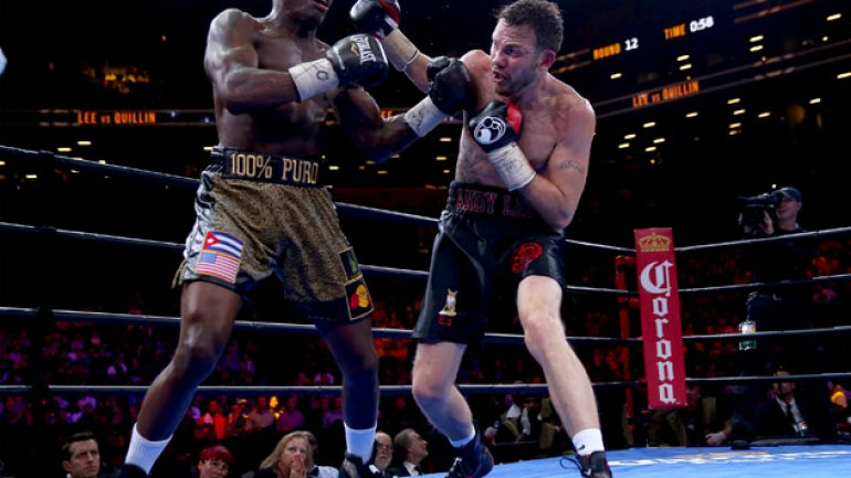 Andy Lee-Peter Quillin middleweight shootout ends in a split draw