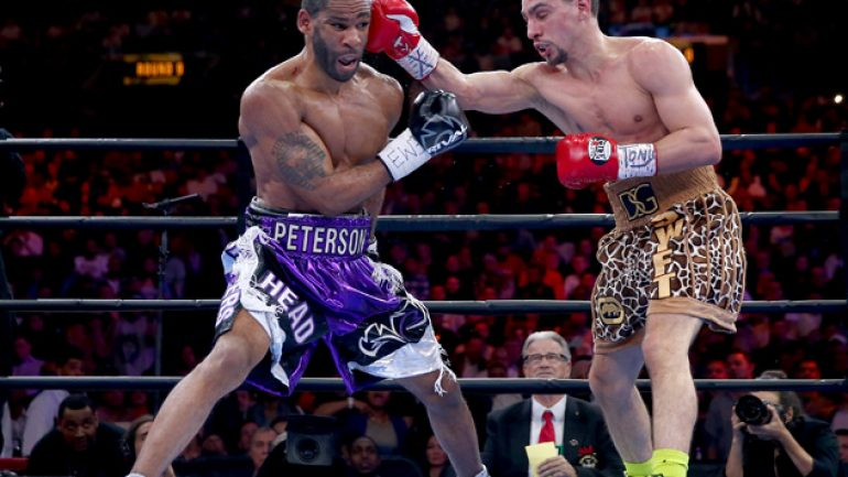 Danny Garcia outlasts Lamont Peterson for majority decision victory