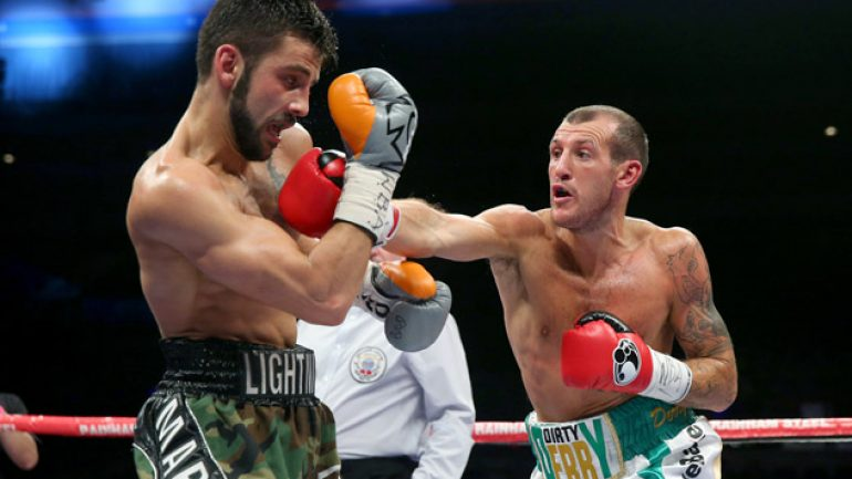 Derry Mathews out to shock Terry Flanagan in WBO 135-title bout