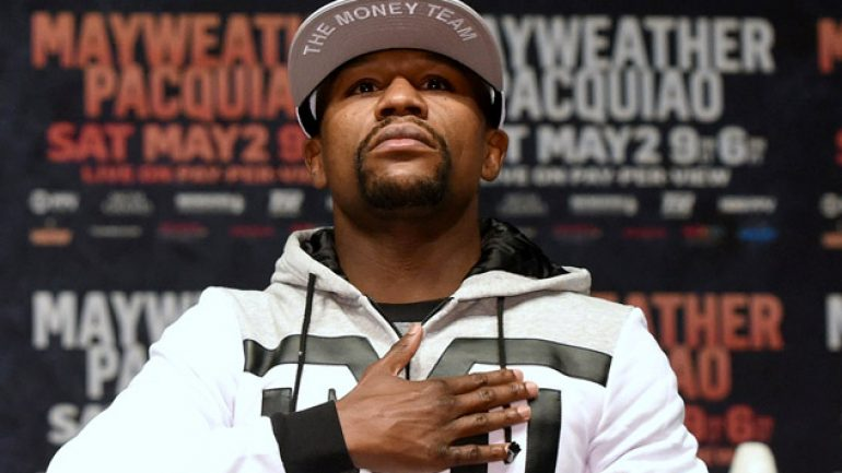Floyd Mayweather Jr. headed back to PPV, says source