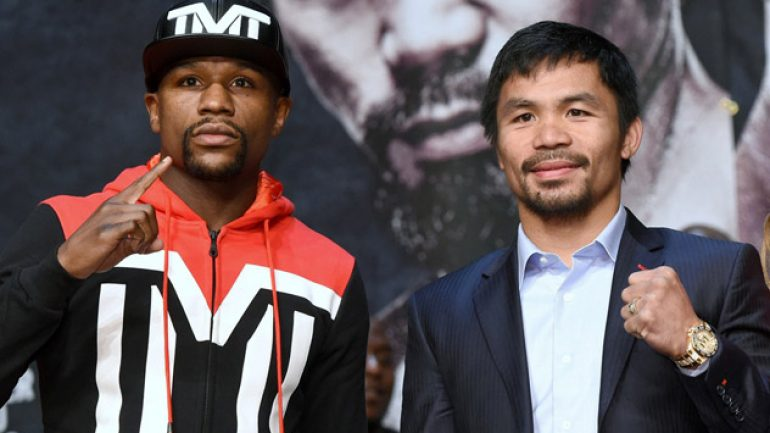 Photo gallery: Floyd Mayweather Jr.-Manny Pacquiao final presser