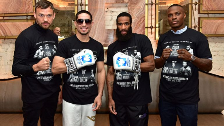 Danny Garcia, Lamont Peterson keep it classy at final presser (alas)