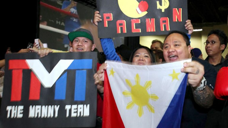 Photo gallery: Manny Pacquiao Las Vegas fan rally